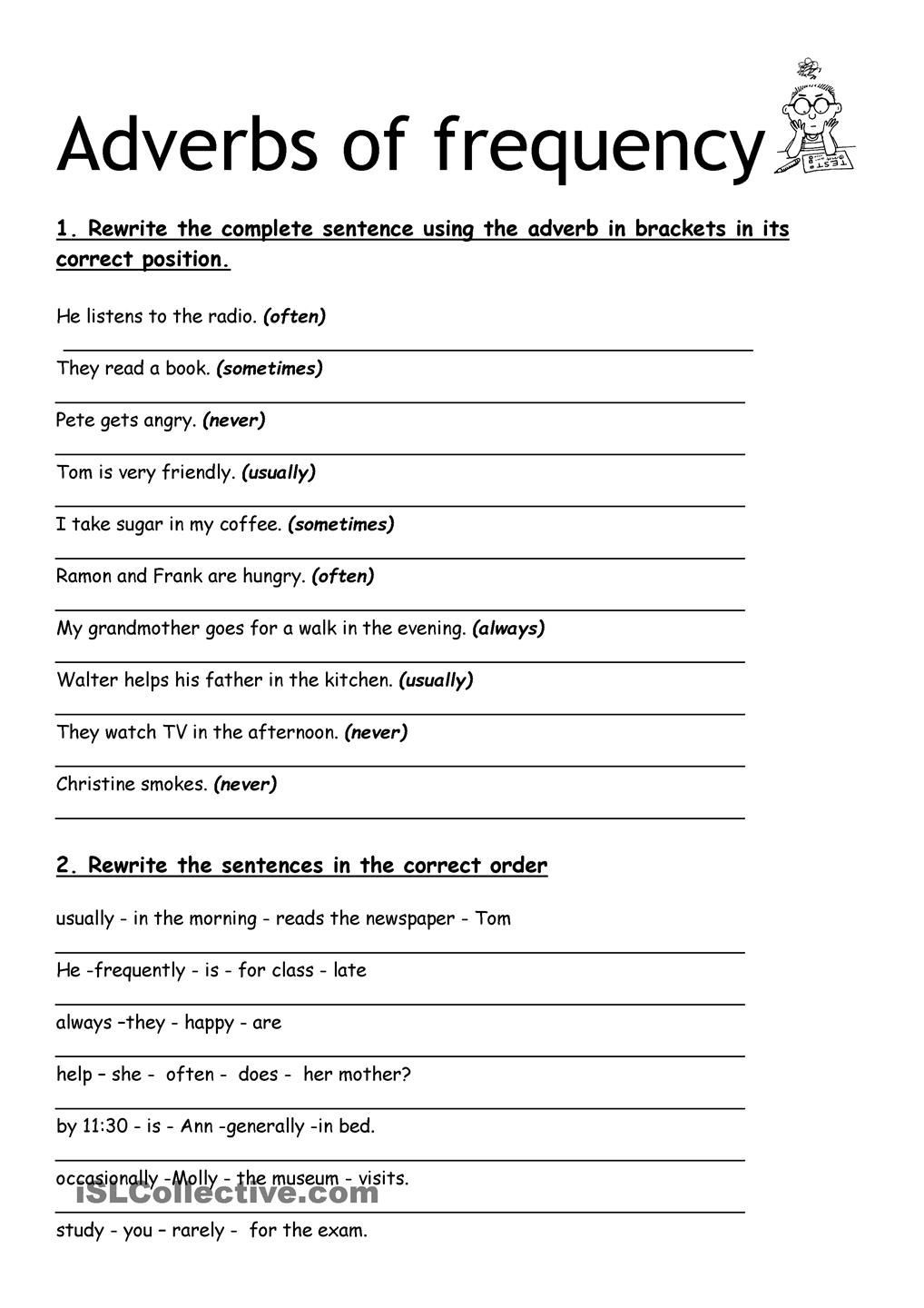 Frequency Tables Worksheets 6th Grade