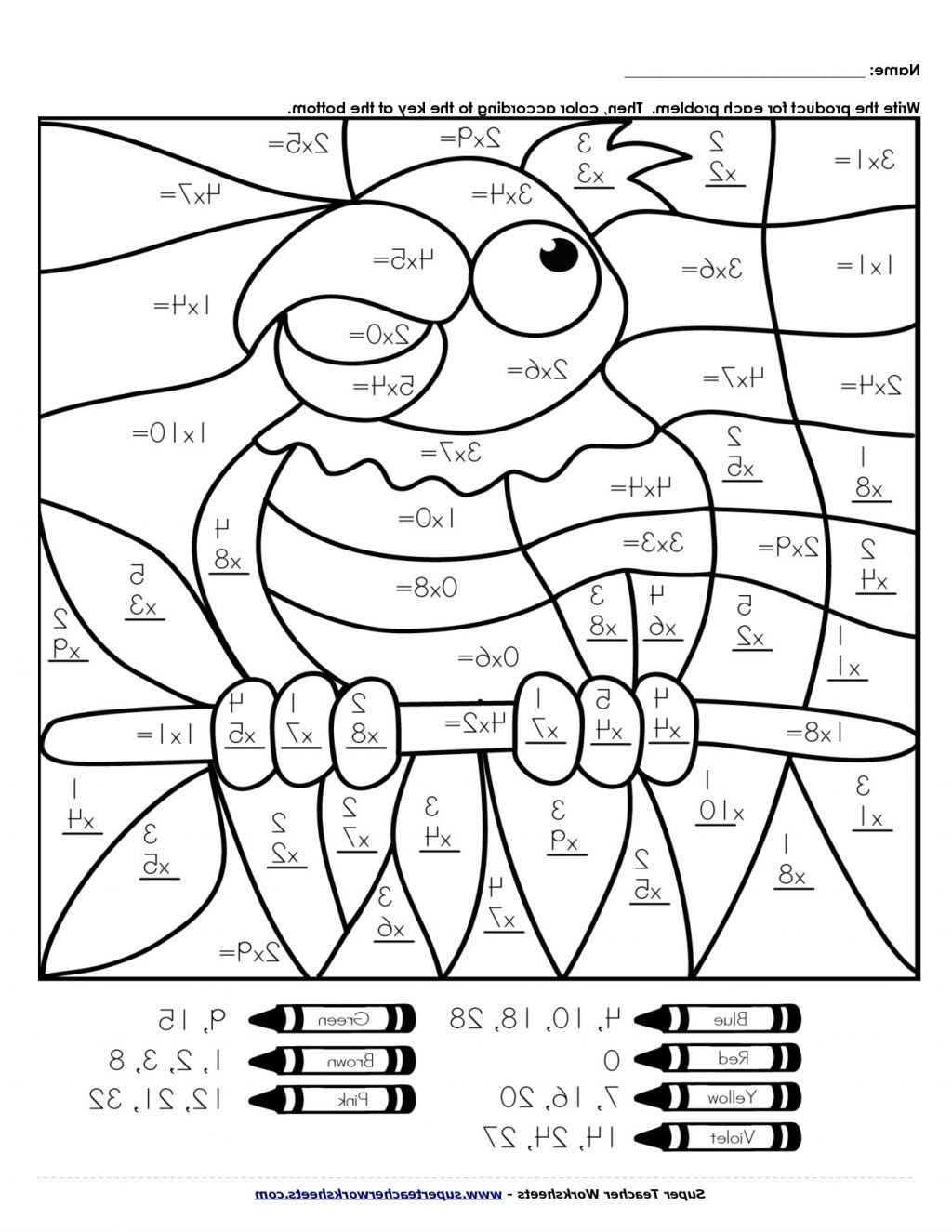 worksheet Coloring Pages Ideas Staggering Math Worksheets
