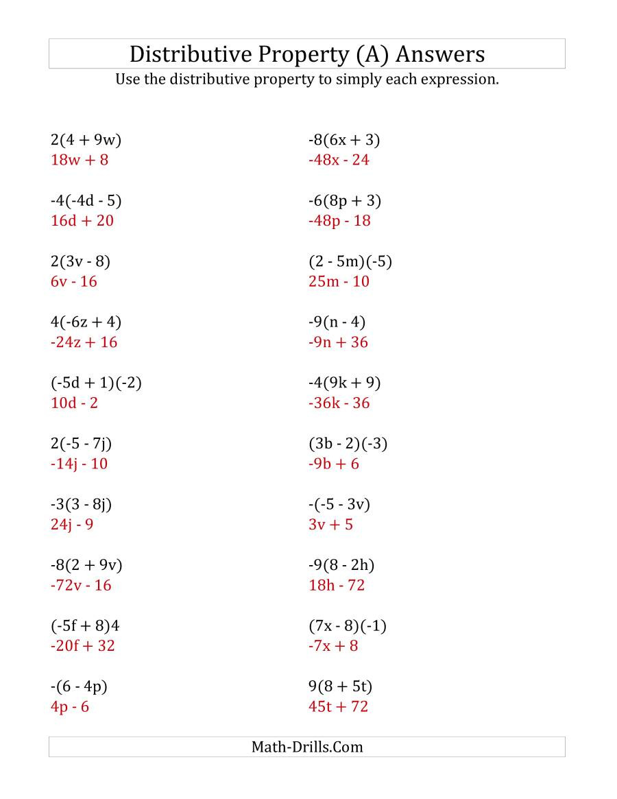 Multiplication Property Of Exponents Worksheets