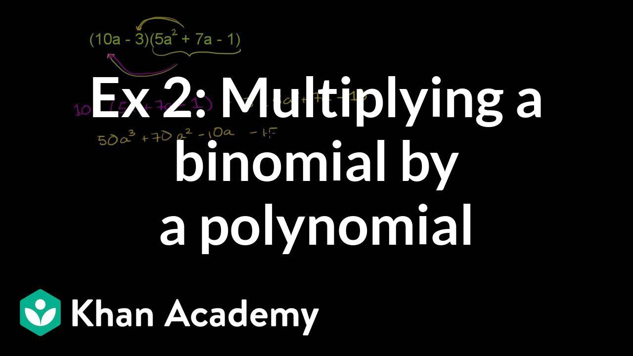 Multiplying Special Case Polynomials Worksheet