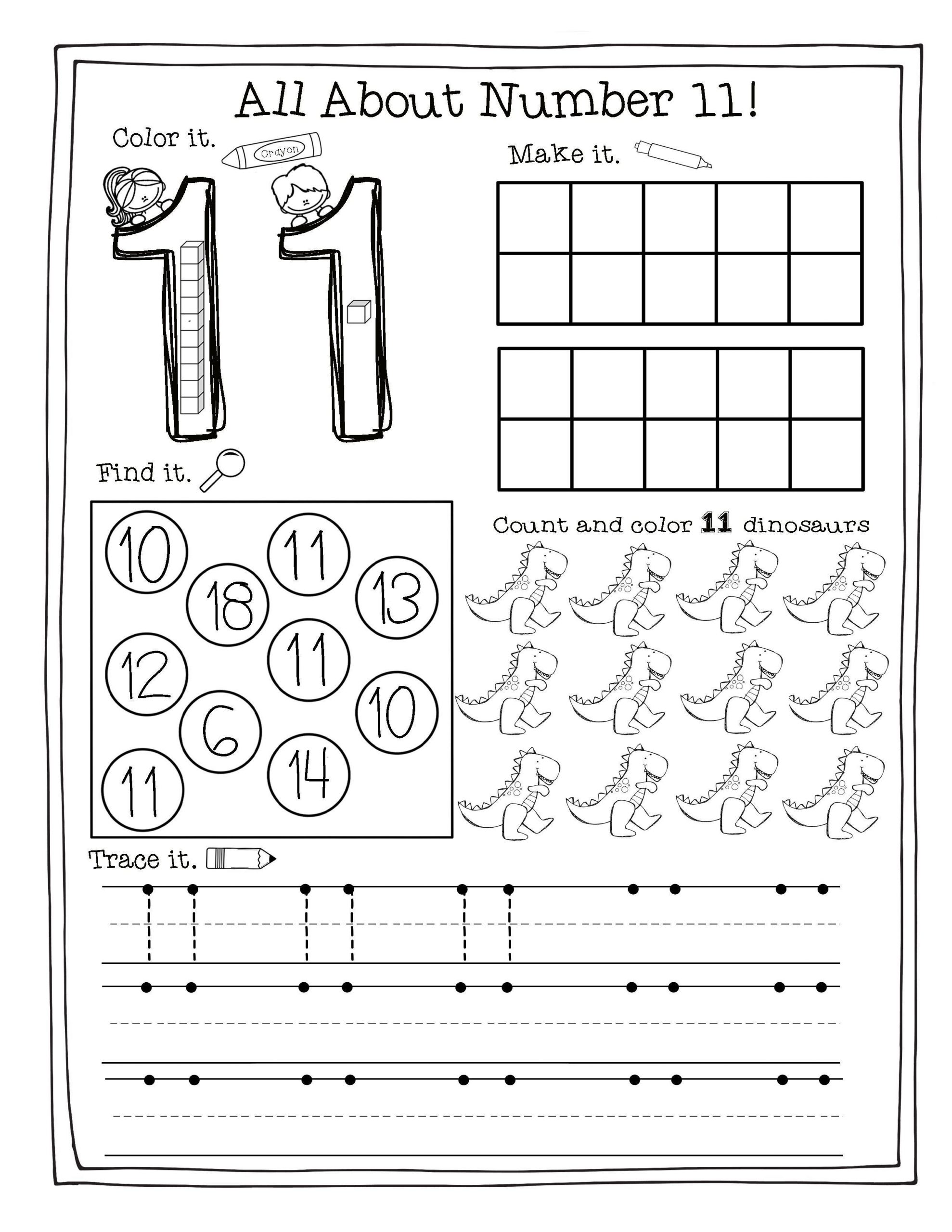 Building the Numbers 11 20 Free Printables