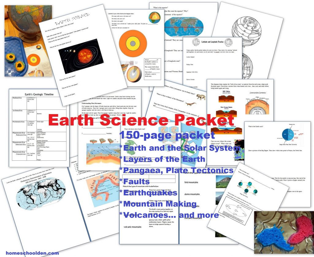 Earthquake Worksheets Middle School