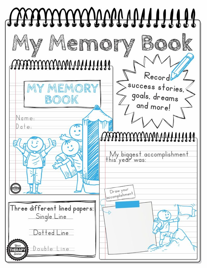End Of Year Reflection Worksheet