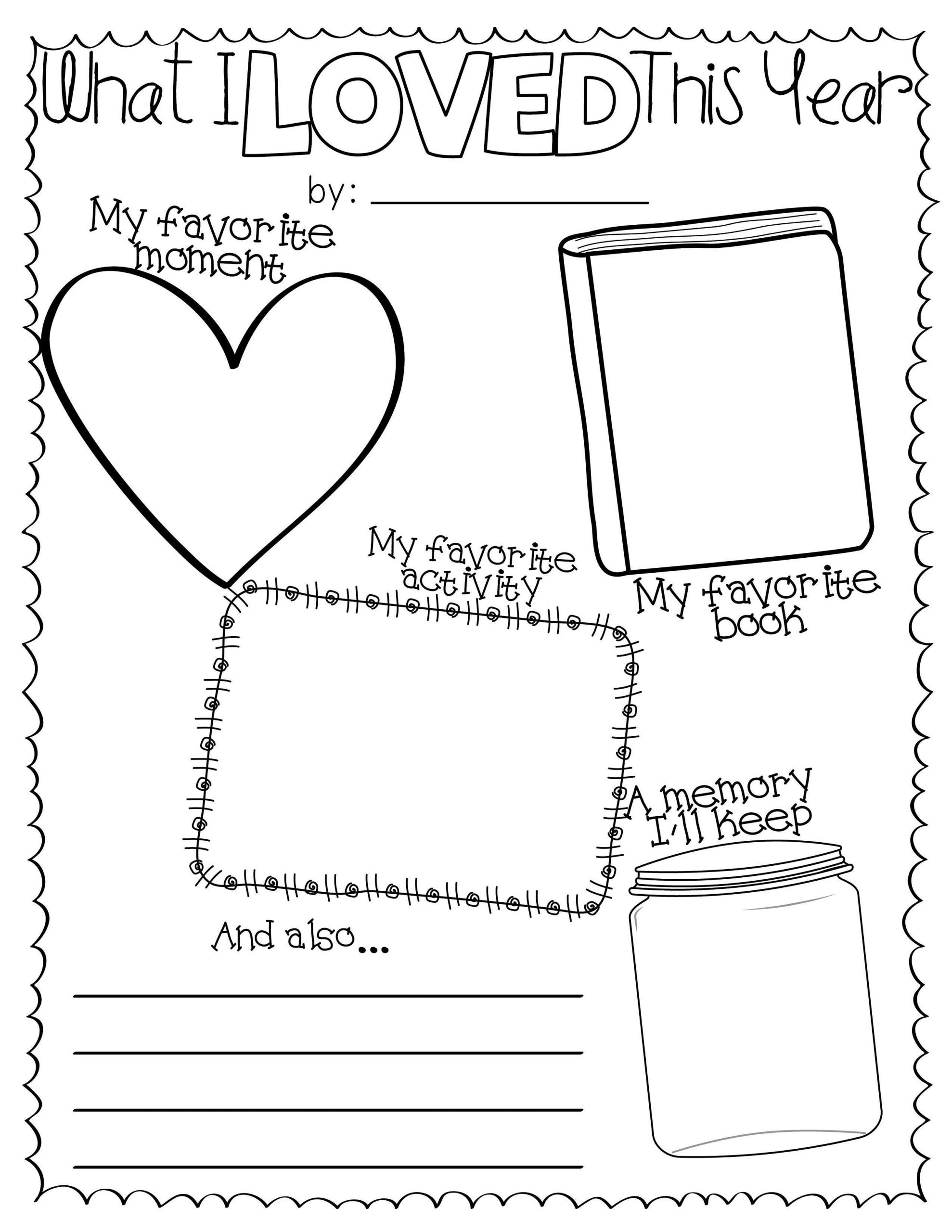 School Worksheets end of the school year worksheets for 2nd