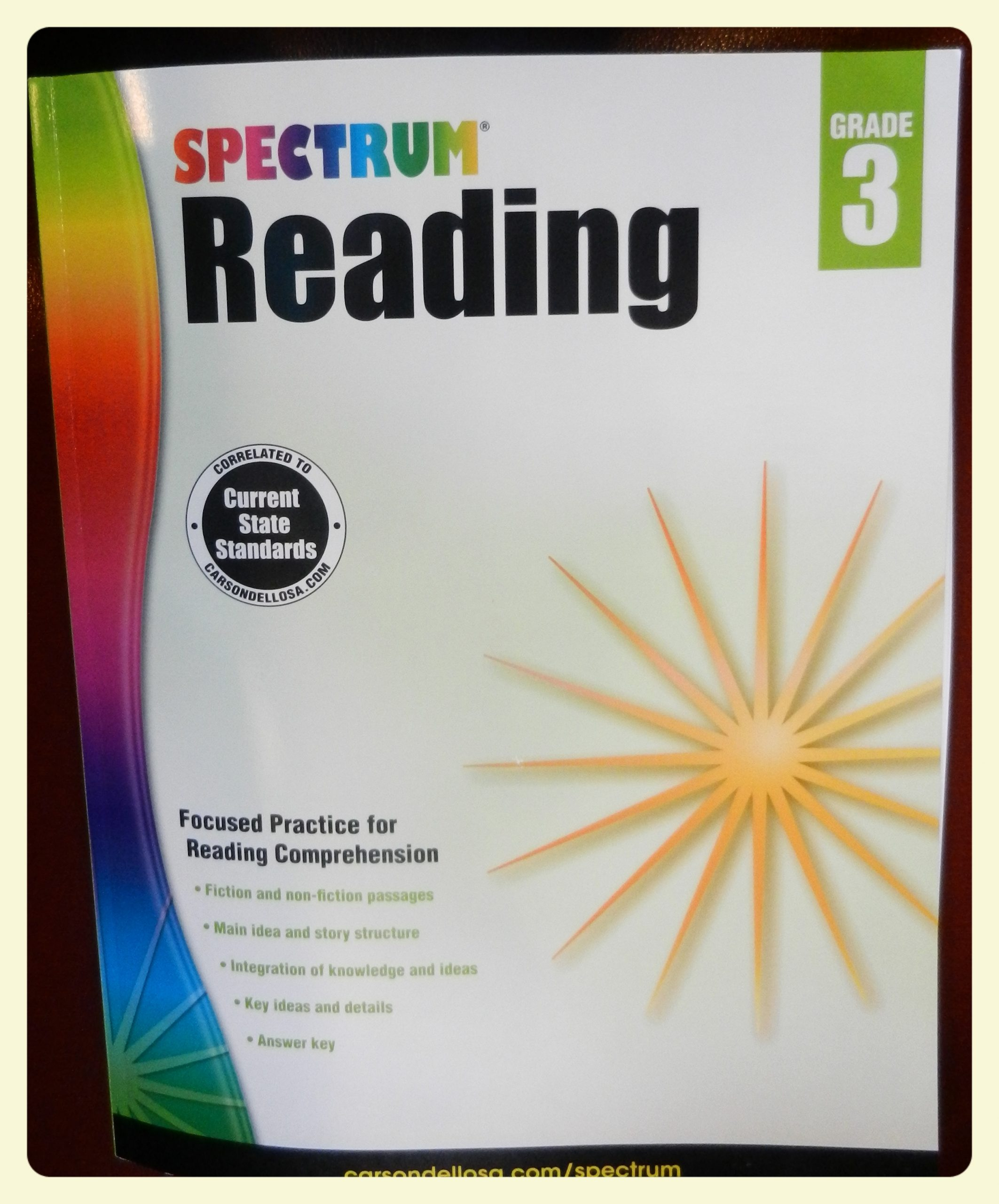Spectrum Reading Grade 3 My Review The Curriculum Choice