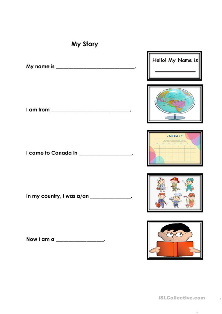 The Wife Story Worksheet